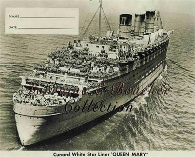 RMS Queen Mary Ship
