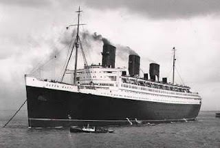 Cunard Queen Mary Ship