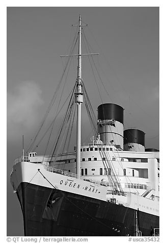 The Old Queen Mary Ship