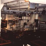 RMS Queen Mary 1 ship aft engine room