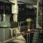 RMS Queen Mary 1 ship forward Turbo Generator Room
