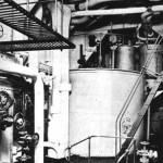 RMS Queen Mary 1 ship water plant