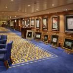 Cunard QM2 Art Gallery