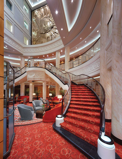 40 Luxurious Grand Foyers For Your Elegant Home: RMS Queen Mary 2 Cruise Ship