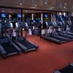 Cunard QM2 Gym (Fitness complex)