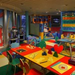 Cunard QM2 Play Zone (kids room)