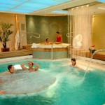 Cunard QM2 Spa complex by Canyon Ranch SpaClub