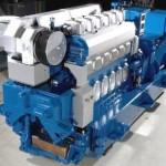 QM2 ship power plant Wartsila diesel generator