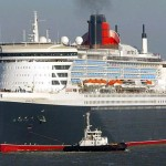 QM2 ship sea trials 2003 Nov 7